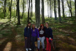 The four hikers from DTU.