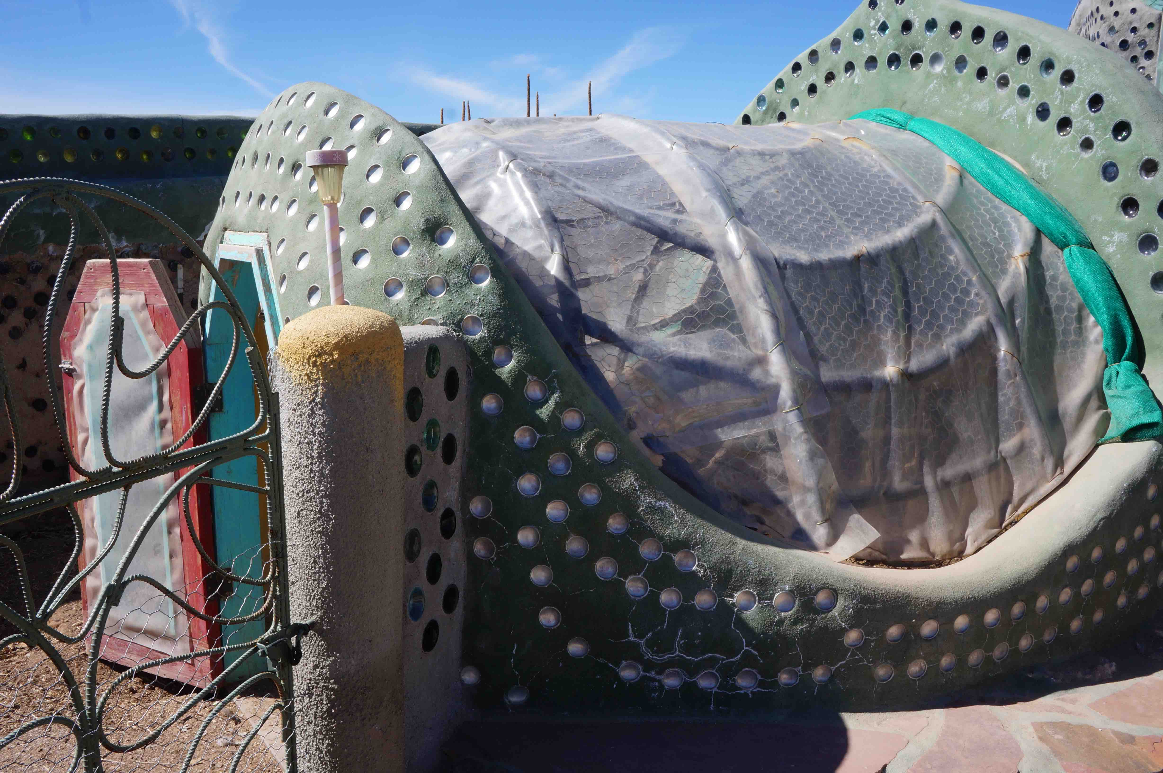 Building Earthships In Taos Electrical Rough Wiring Of Earthship Tire Walls Pictures To Pin On After The Tour We Were Hanging Out Front Phoenix For A While Before Getting Lunch And Spending Rest Day